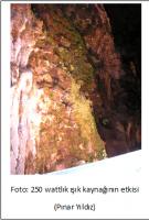 Turizme Açılmış Mağarada Biyoçeşitliliğin Gözlenmesi