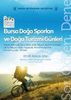 """""""Bursa Doğa Sporları ve Doğa Turizmi Günleri"""" 3-4 Aralık 2016"""